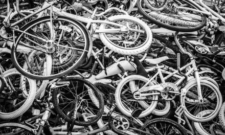Pile of Bicycyles