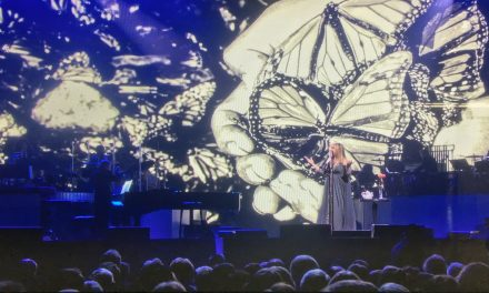 My Monarch Image Used by Barbra Streisand in Concert